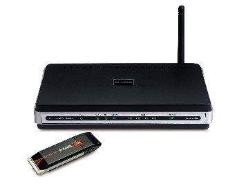 how to connect dell c1660w to wireless router modem